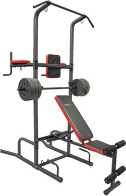 Functional Cross Training Tower System with Bench