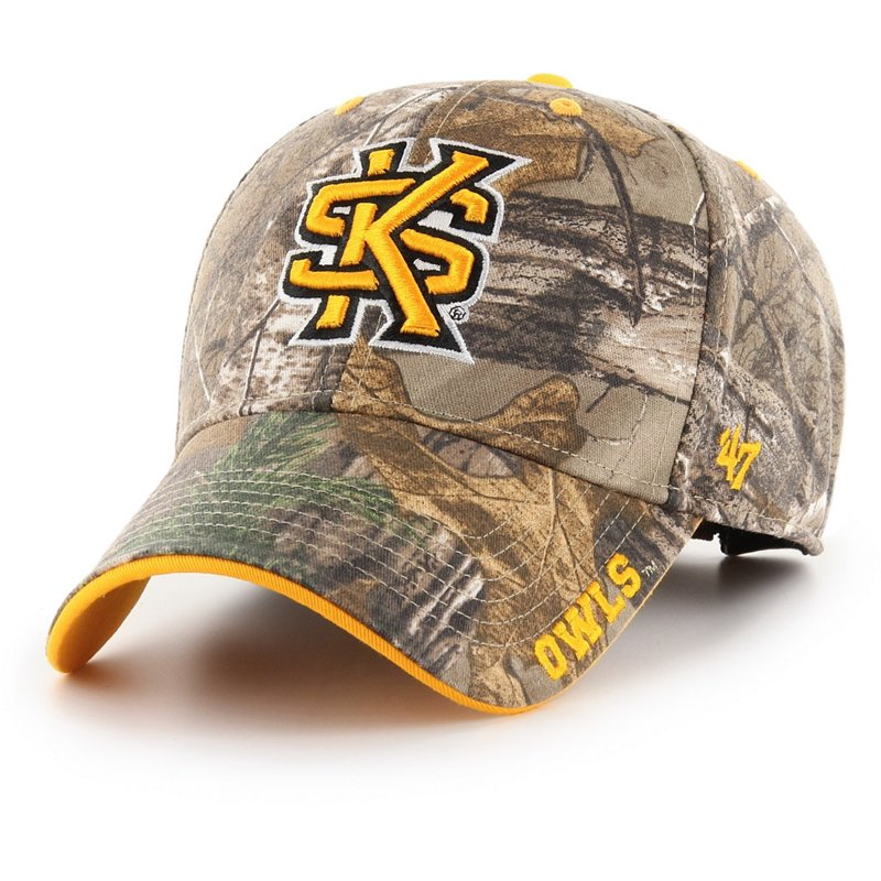 '47 Kennesaw State University Realtree Frost MVP Cap Dark Green/Brown - NCAA Men's Caps at Academy Sports thumbnail