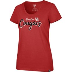 University of Houston Women's Script Wordmark Club T-shirt
