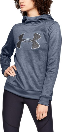 Under Armour Women's Armour Fleece Big Logo Pullover Hoodie