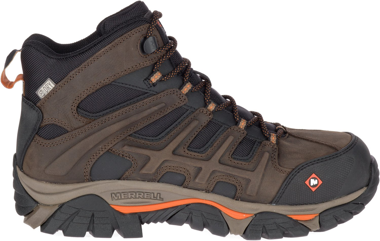 b65f86d4 Merrell Men's MOAB 2 Peak EH Composite Toe Lace Up Work Shoes | Academy
