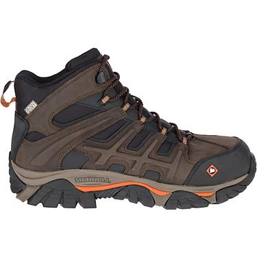 2f4a866ac9 Merrell Men's MOAB 2 Peak EH Composite Toe Lace Up Work Shoes