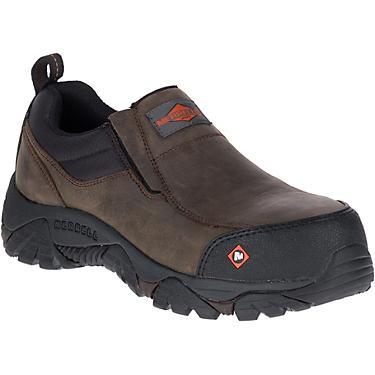 e8905eaeffb Merrell Men's Moab Rover Moc EH Composote Toe Lace Up Work Shoes