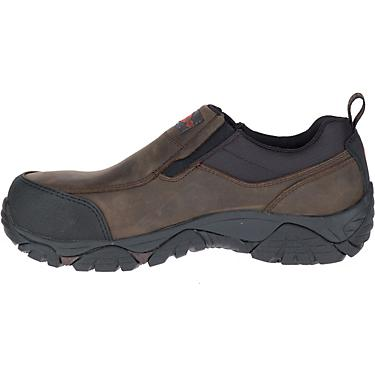 best selection of finest fabrics low cost Merrell Men's Moab Rover Moc EH Composote Toe Slip-on Work Shoes