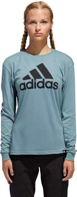adidas Women's Badge of Sport Long Sleeve T-shirt
