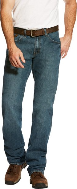 Ariat Men's Rebar Fashion M4 Low Rise Boot Cut Jeans