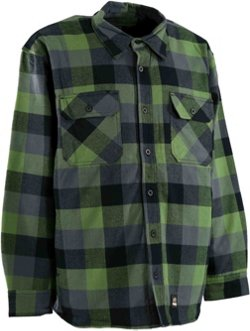 Men's Flannel Shirt Jacket
