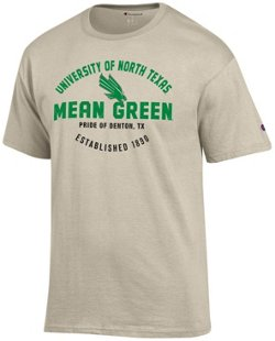 Champion Men's University of North Texas Oval Name with Mascot T-shirt