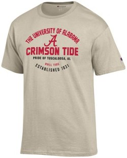 Champion Men's University of Alabama Oval Name with Mascot T-shirt