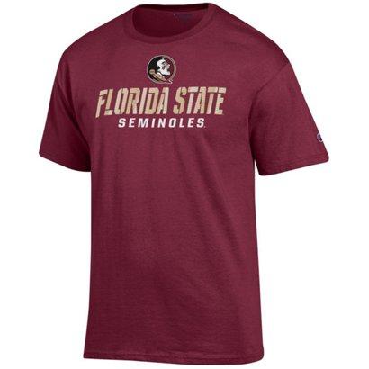 fca0f66deb8 Champion Men s Florida State University Speed Name T-shirt