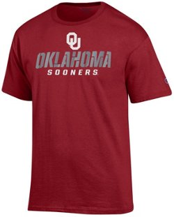 Champion Men's University of Oklahoma Speed Name T-shirt