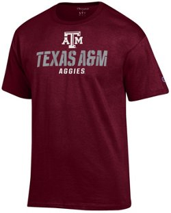 Champion Men's Texas A&M University Speed Name T-shirt