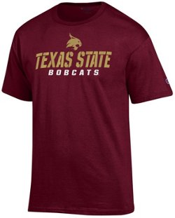 Champion Men's Texas State University Speed Name T-shirt