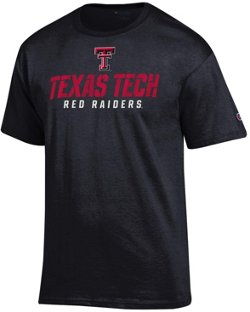 Champion Men's Texas Tech University Speed Name T-shirt