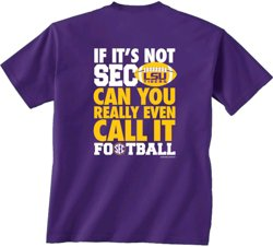 New World Graphics Men's Louisiana State University SEC Call It Football T-shirt