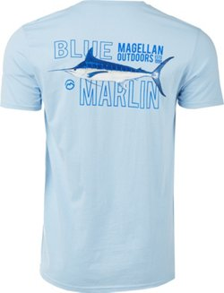 Magellan Outdoors Men's Blue Marlin Graphic T-shirt