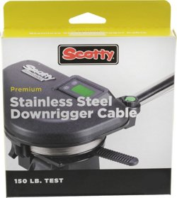Scotty 1001K 150-Lb Test Premium Downrigger Cable