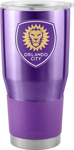 Boelter Brands Orlando City SC 30 oz Stainless Steel Ultra Tumbler