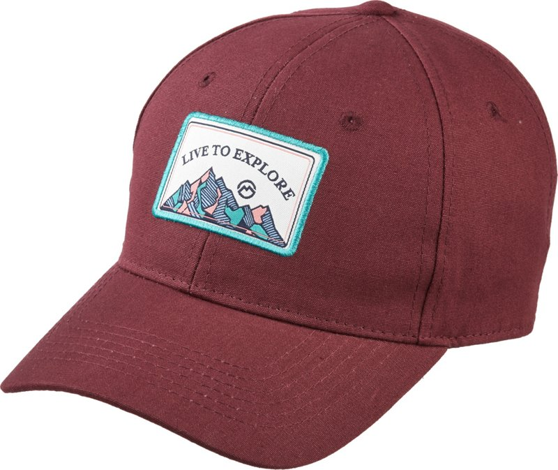 Magellan Outdoors Women's Multi-Rose Hiking Cap (Windsor Wine, Size One Size) – Men's Outdoor Apparel, Men's Hunting/Fishing Headwear at Academy Sports
