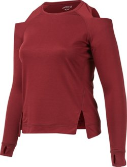 BCG Women's Cold Shoulder FT Pullover