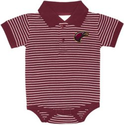 Two Feet Ahead Infants' University of Louisiana at Monroe Jersey Creeper Shirt