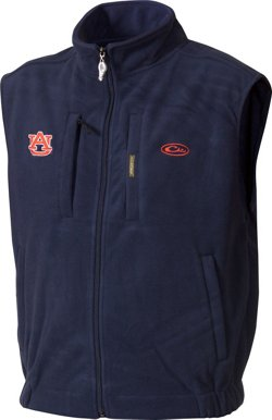 Drake Waterfowl Men's Auburn University Windproof Layering Vest