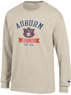 Champion Men's Auburn University Oval with Mascot T-shirt