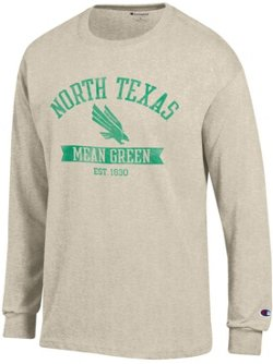 Champion Men's University of North Texas Oval with Mascot T-shirt