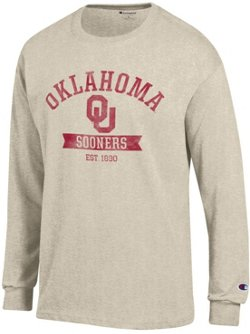 Champion Men's University of Oklahoma Oval with Mascot T-shirt