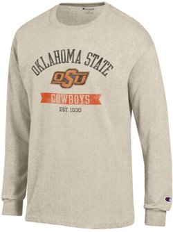 Champion Men's Oklahoma State University Oval with Mascot T-shirt