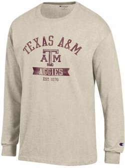 Champion Men's Texas A&M University Oval with Mascot T-shirt