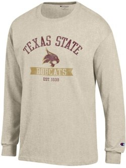 Champion Men's Texas State University Oval with Mascot T-shirt