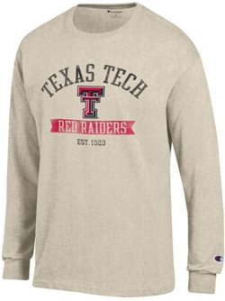 Champion Men's Texas Tech University Oval with Mascot T-shirt
