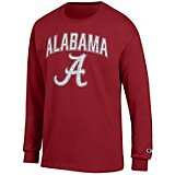 Champion Men's University of Alabama School Arch Long Sleeve T-shirt