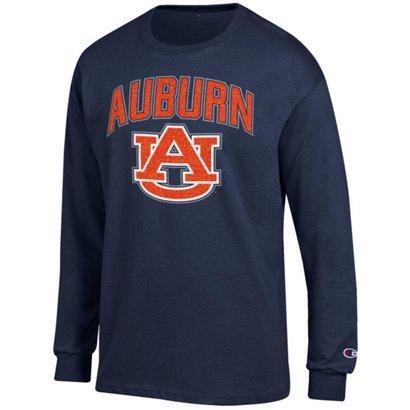 Champion Men s Auburn University School Arch Long Sleeve T-shirt ... 8c2b67c03