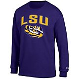 Champion Men's Louisiana State University School Arch Long Sleeve T-shirt