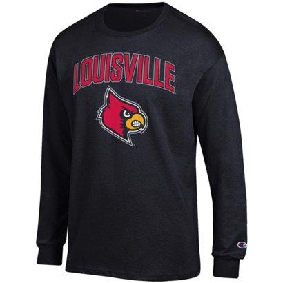 fcd2cc3db5b3 Champion Men s University of Louisville School Arch Long Sleeve T ...