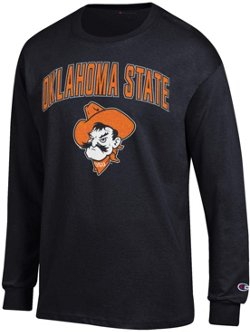 Champion Men's Oklahoma State University School Arch Long Sleeve T-shirt