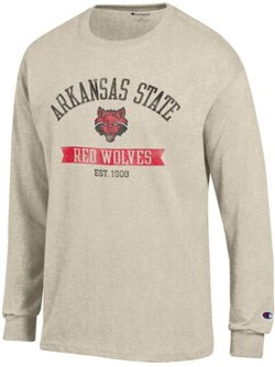 Champion Men's Arkansas State University Oval with Mascot T-shirt