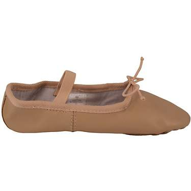 Dance Class Women's Full Sole Leather Ballet Shoes