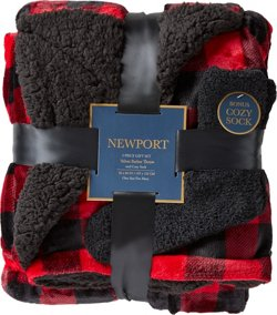 Newport 50 in x 60 in Velvet Berber Throw