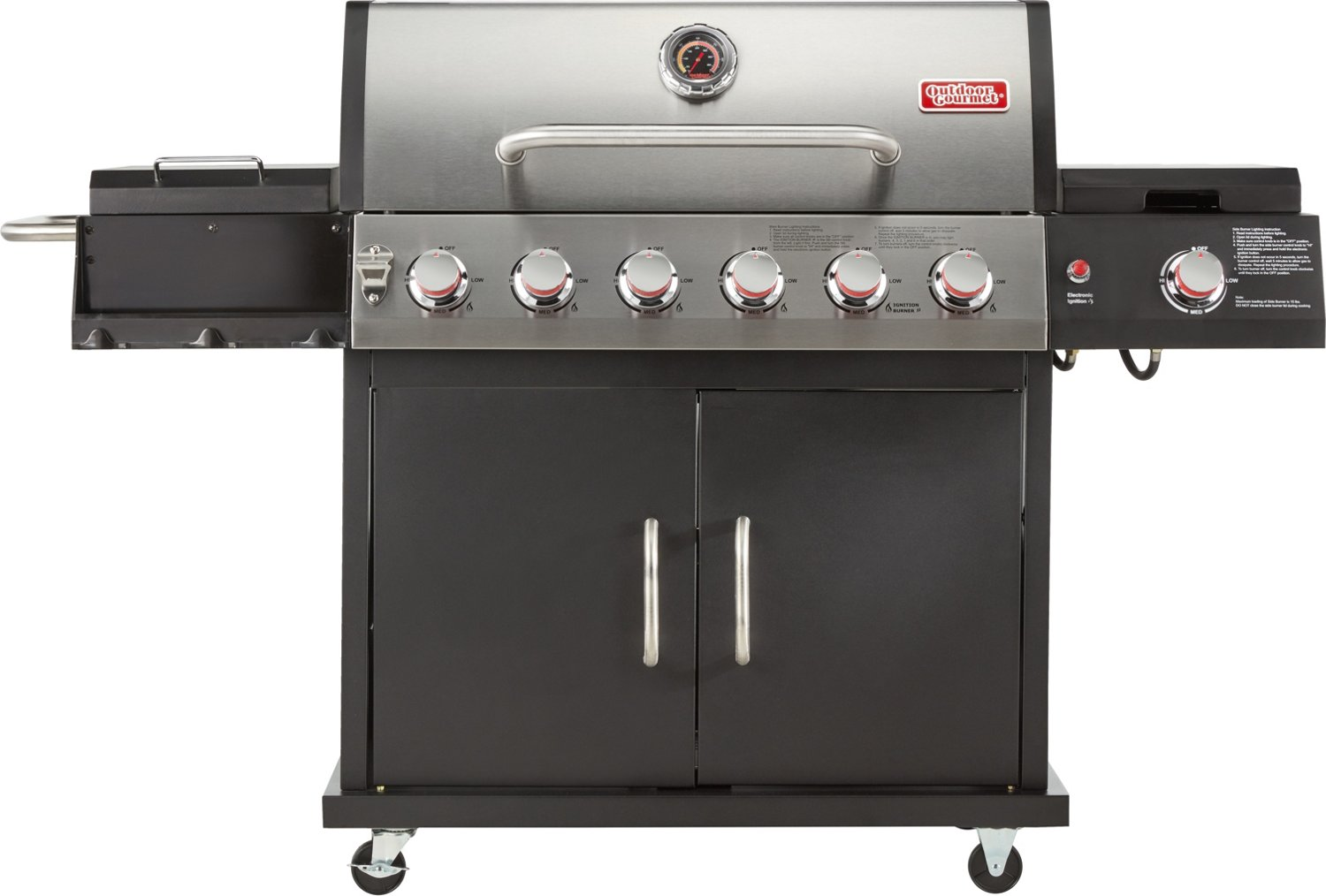 Display Product Reviews For Outdoor Gourmet 6 Burner Gas Grill