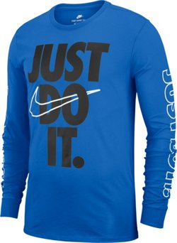 Nike Men's Sportswear Just Do It Long Sleeve T-shirt