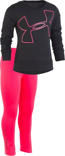 Under Armour Toddler Girls' Big Logo Tunic Set