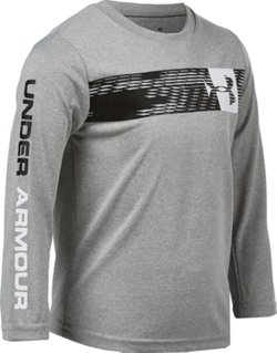Under Armour Toddler Boys' Travel Logo Long Sleeve T-shirt