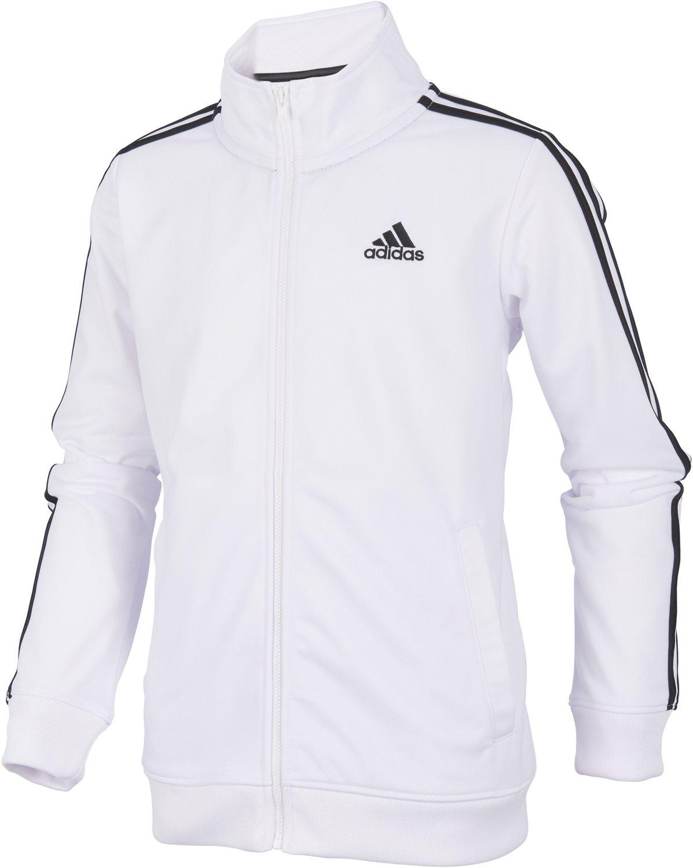 adidas Boys 8 20 Iconic Track Jacket Active Clothing Active