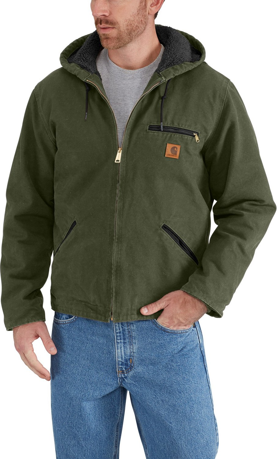 623124a1b Display product reviews for Carhartt Men's Sandstone Sierra Jacket