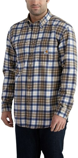 Men's Flame Resistant Classic Plaid Shirt