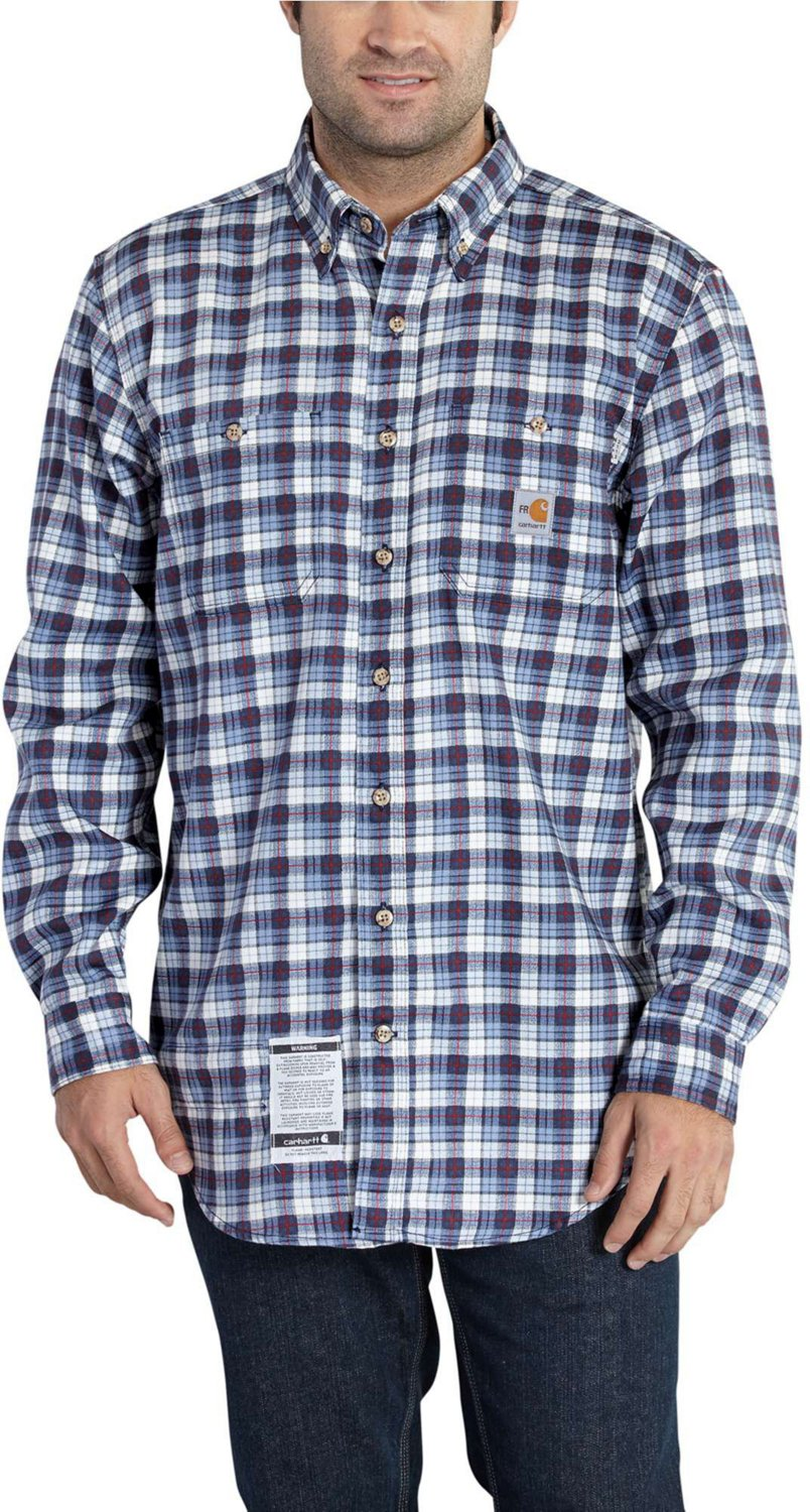 ca0882c5dd1857 Display product reviews for Carhartt Men's Flame Resistant Classic Plaid  Shirt