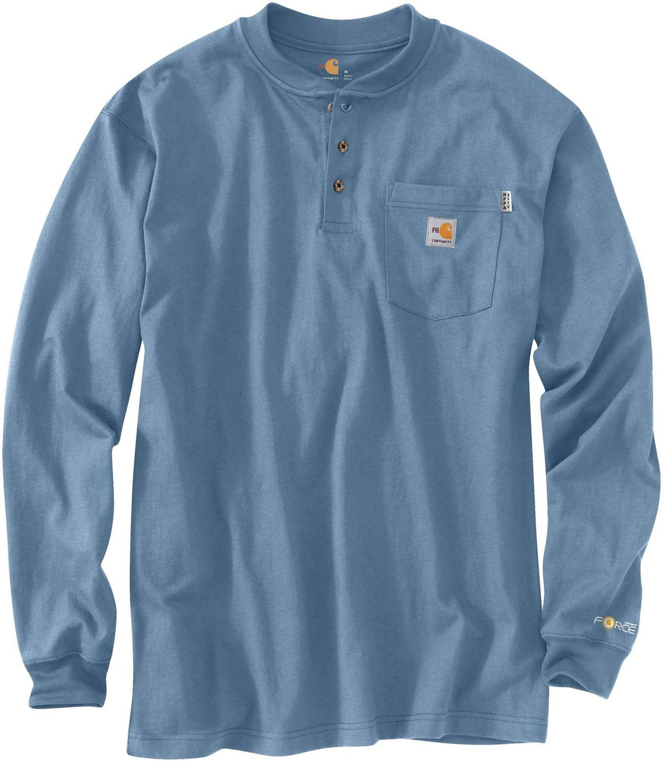 e08b9893 Display product reviews for Carhartt Men's Flame-Resistant Force Cotton Long  Sleeve Henley